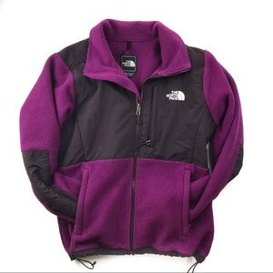 •THE NORTH FACE• Purple Denali Jacket Zip Up